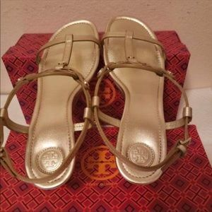 Tory Burch Shoes - 🍁Tory Burch Miller Wedges Size 9 Authentic 🍂🍁